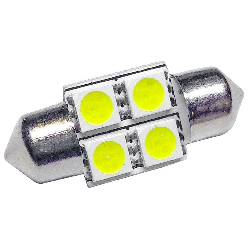 Izzó 12V/4 SMD LED szofita 31 mm