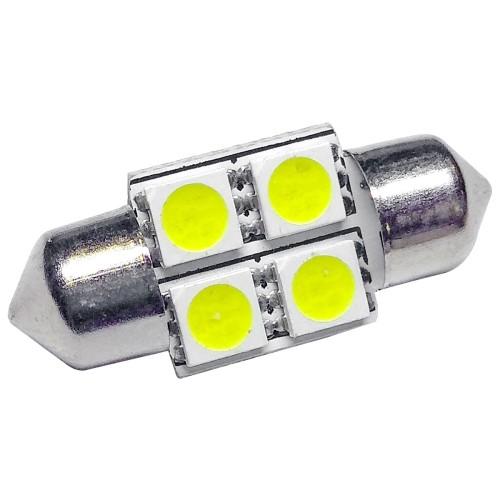 Izzó 12V/4 SMD LED szofita 31 mm