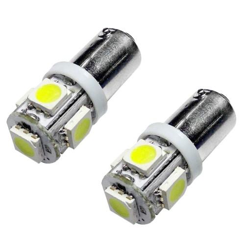 Izzó 12V/5 SMD LED Ba9s párban