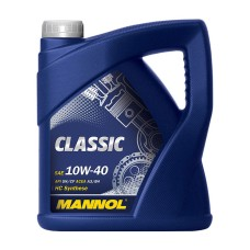 Motorolaj 10W-40 API SN / SM / CF Mannol Classic 4 liter