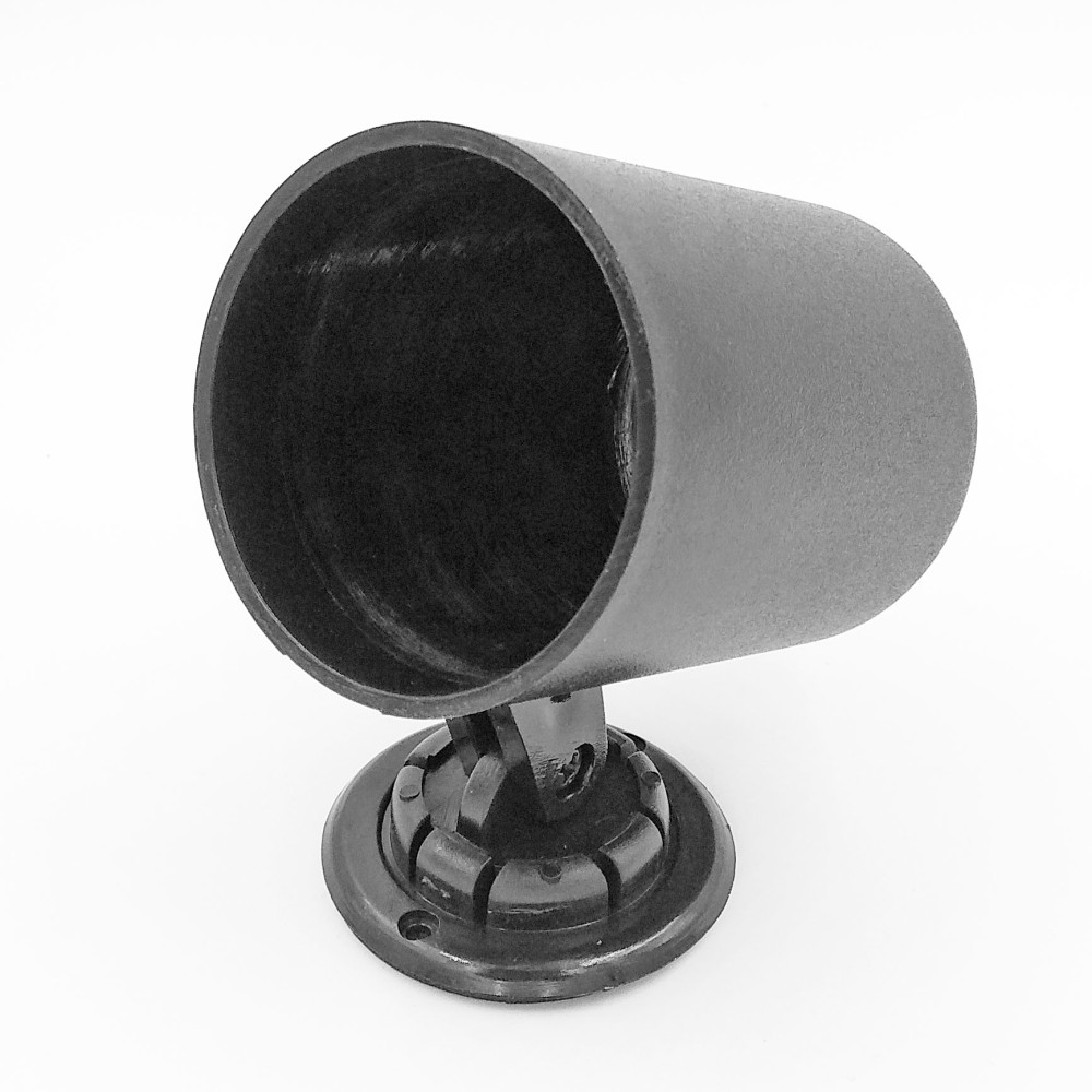 Műszertartó ház 52mm-es műszerhez 1-es fekete MGB1/CK L