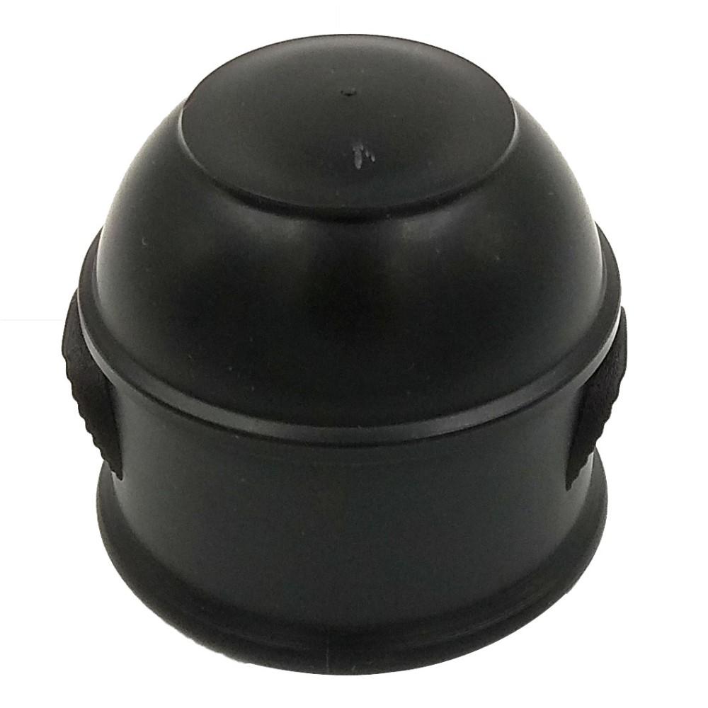 Vonóhorog kupak műanyag erősített fekete