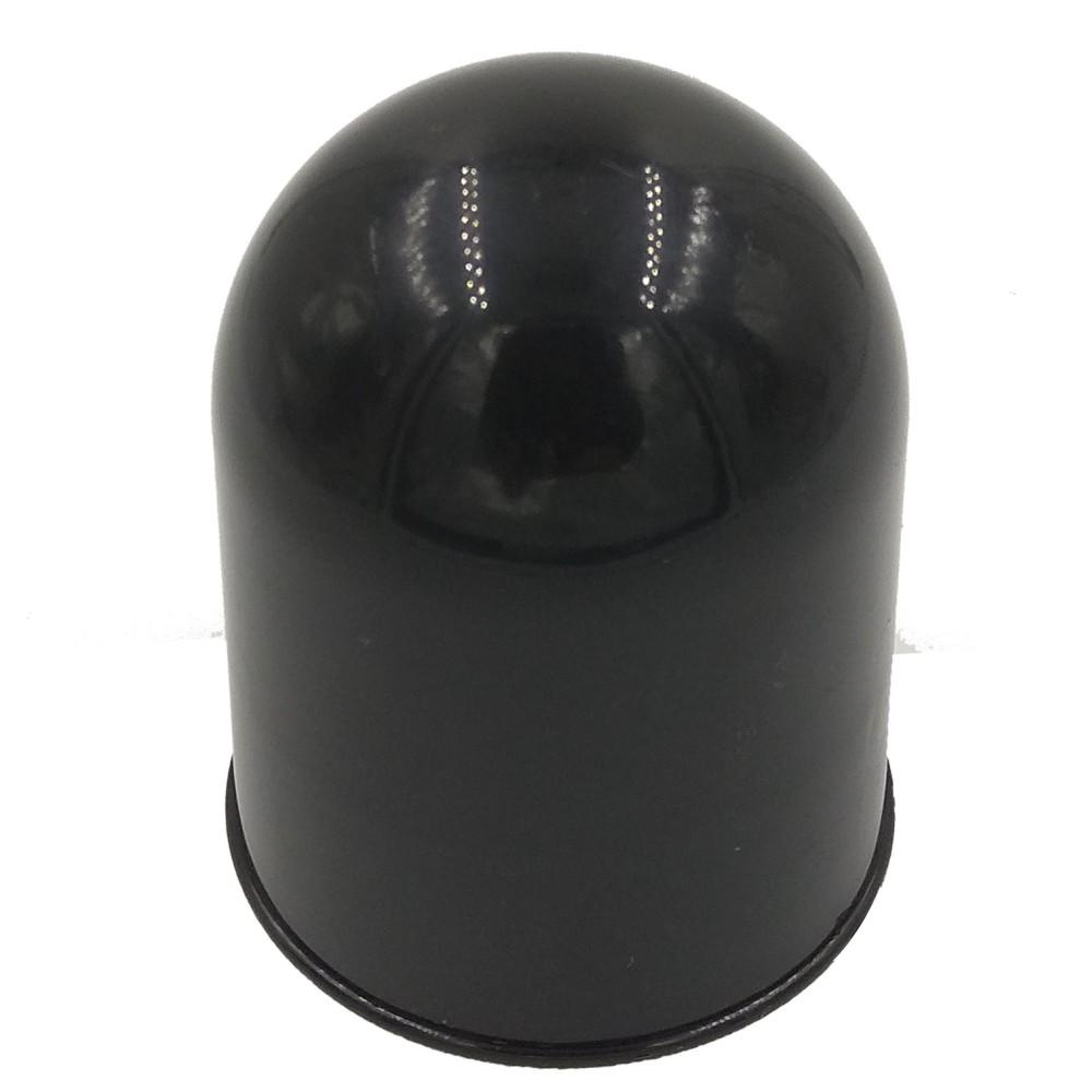 Vonóhorog kupak műanyag fekete