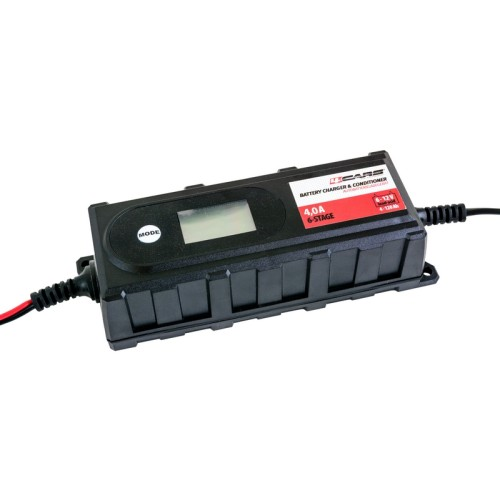 Automatikus mikroprocesszoros akkumulátortöltő 4A 95514