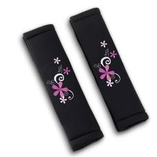 Biztonsági öv párna fekete My Bouquet - csokor virág 29154