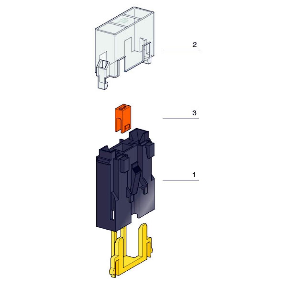 Biztosíték tartó MAXI késes összerakós (LEGO 300)