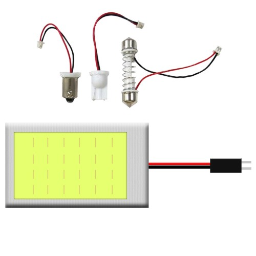 COB LED panel multi adapteres 24 SMD LA508A/24
