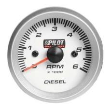 Diesel fordulatszámmérő 52mm Lampa 10028