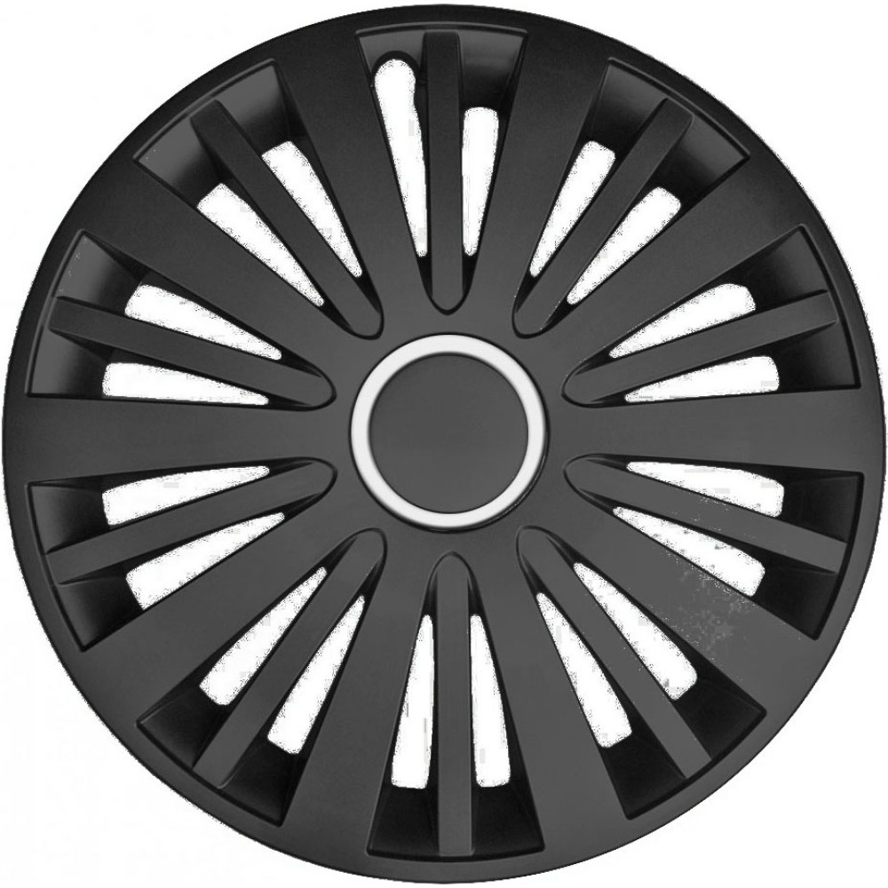 Dísztárcsa (15) Falcon black 4db-os garnitúra