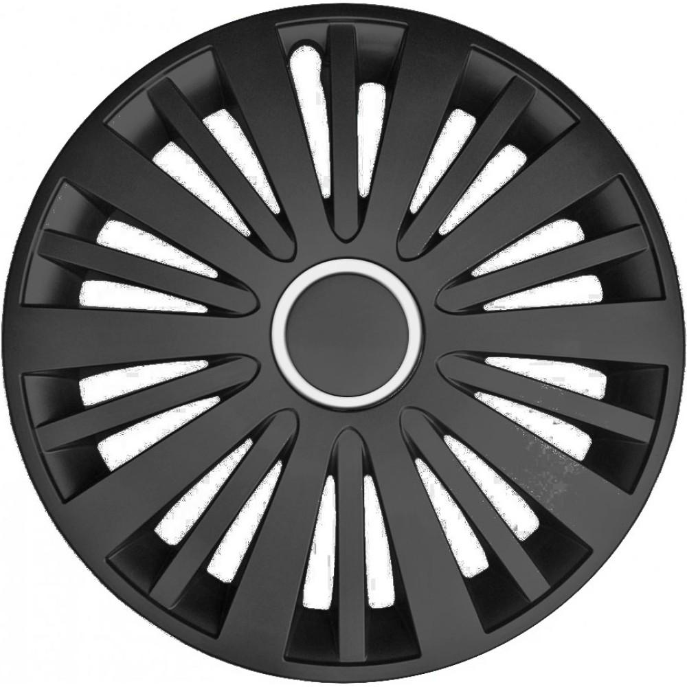 Dísztárcsa (16) Falcon black 4db-os garnitúra
