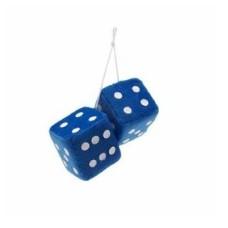 Dobókocka pár kék (pl.tükörre) 02989