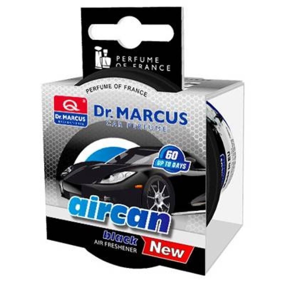 Illatosító Dr. Marcus aircan black 40g