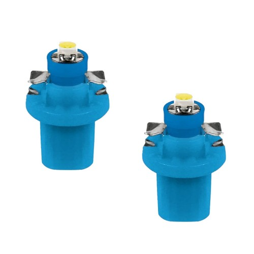 Izzó 12V B8,5D SMD LED, kék 2db