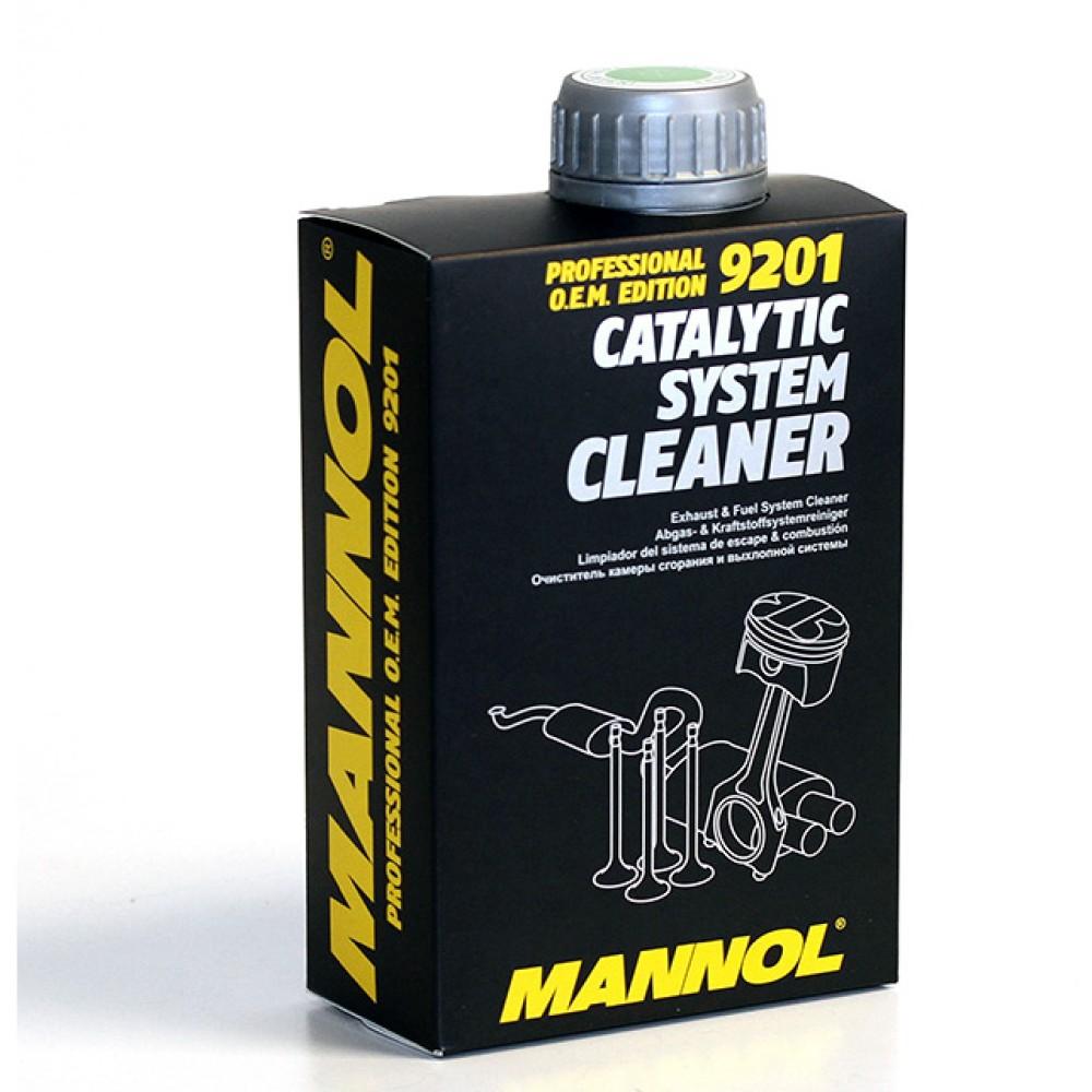 Katalizátor rendszer tisztító infúziós adalék 500 ml Mannol 9201