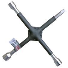 Kerékleszedő keresztkulcs extra erős 17-19-21mm + crowa C6783