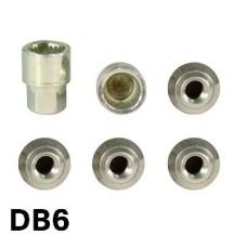Kerékőr DB6 12*1, 5 olasz locket-farad  anya