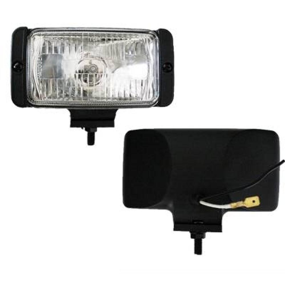 Ködlámpa 12V/H3/55W fehér (SAE) szögletes, terítő SunWay 1202
