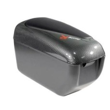 Könyöklő fekete-carbon felnyitható 12cm 48009