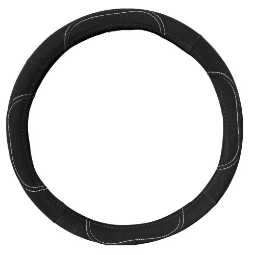 Kormányvédő 37-39cm fekete nubuk bőr 43211
