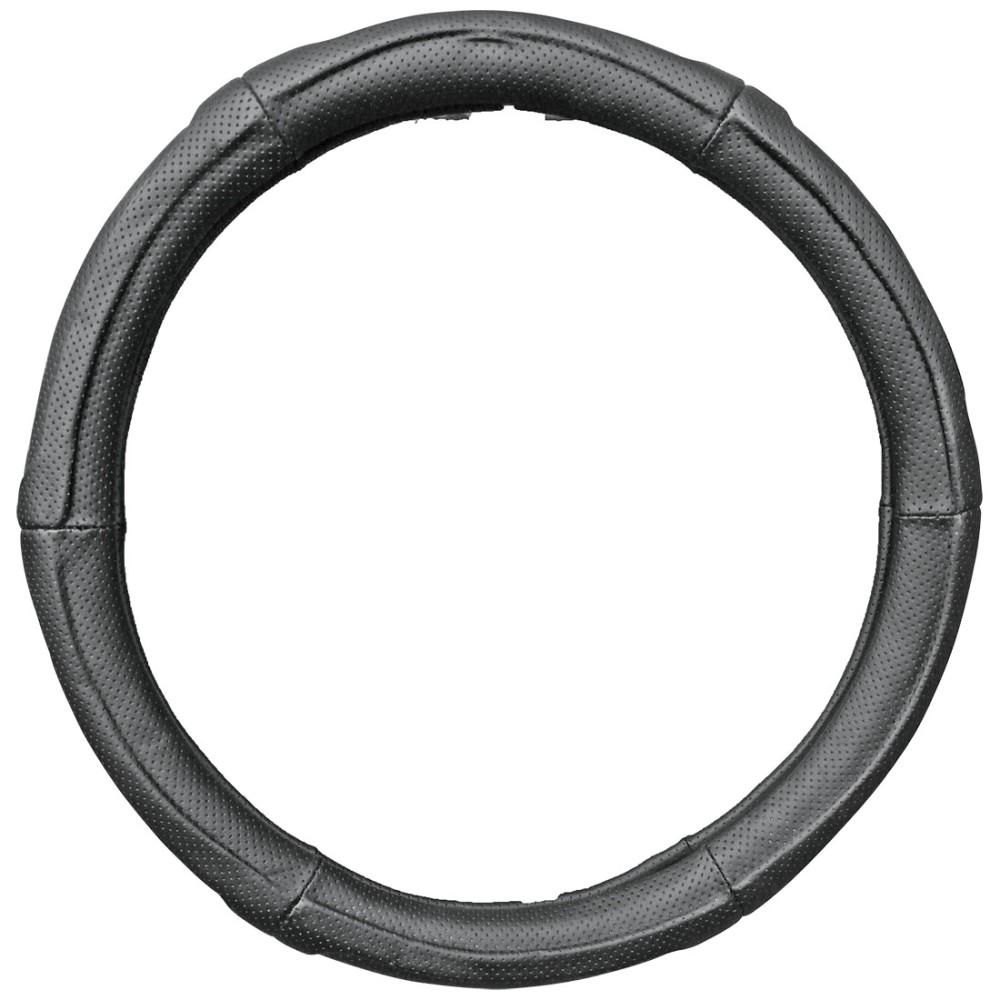 Kormányvédő 37-39cm fekete raszteres, mélyített 27602