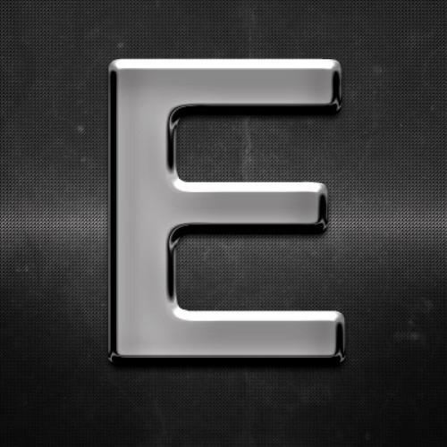 Krómozott betű E 27x27mm 20105