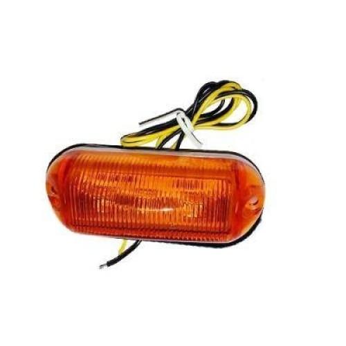 Lámpa 12/24V sárga szélességjelző LA569Y 82x30x30mm