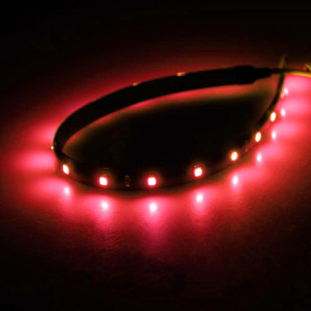 LED csík 15db SMD, 30cm, piros XL612