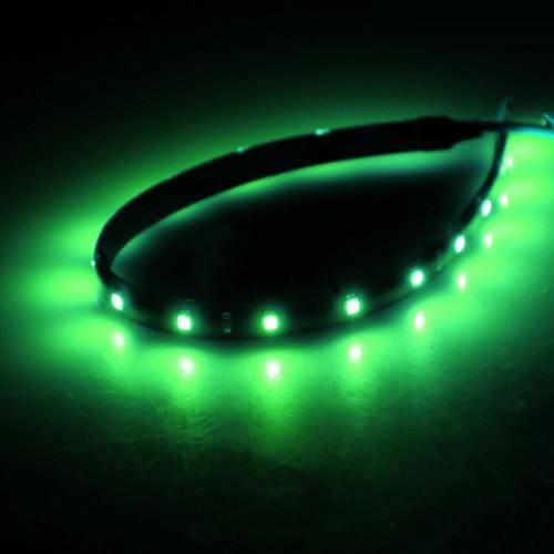 LED csík 15db SMD, 30cm, zöld XL612