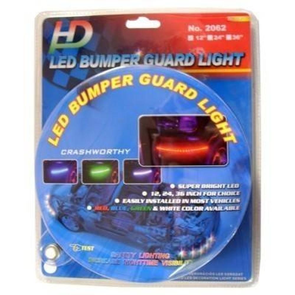 LED csík, ütközés álló, fehér 12 LED-es 30cm LCS-2062/12W