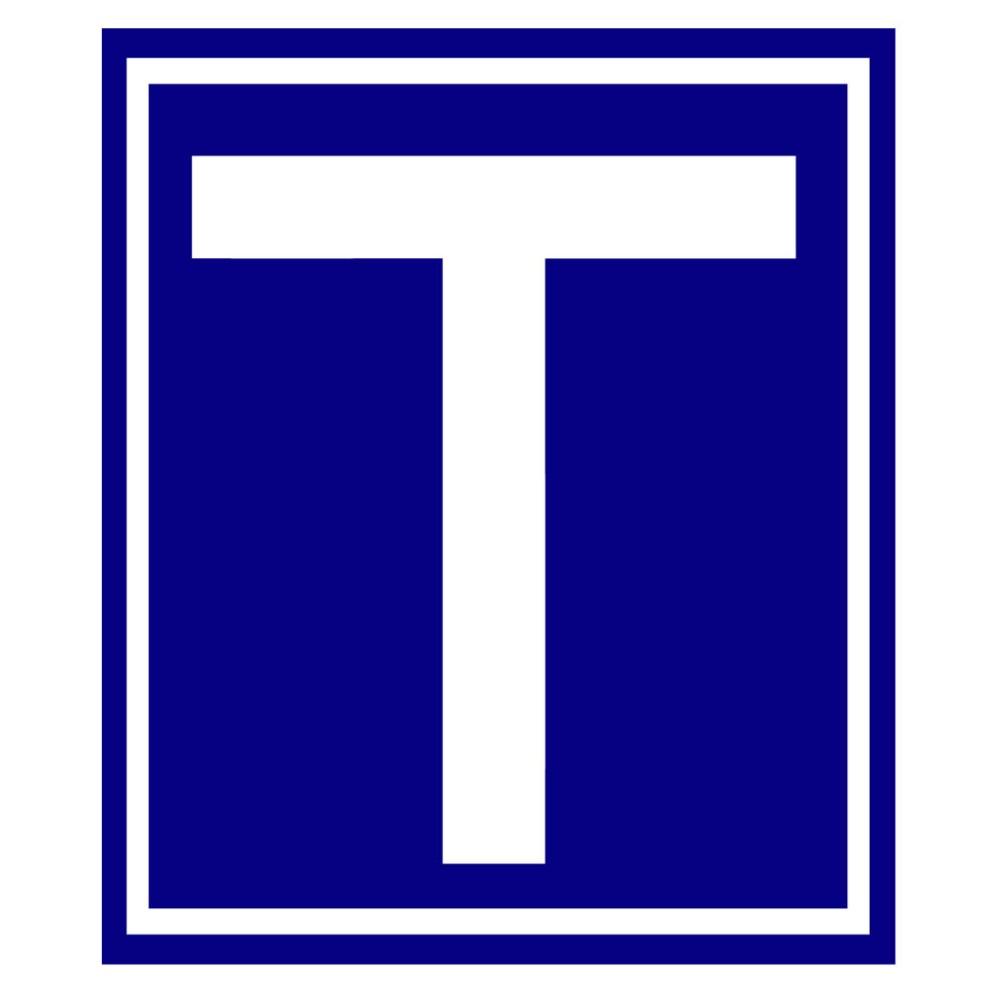 Mágneses T (Tanuló vezető) jelzés autóra