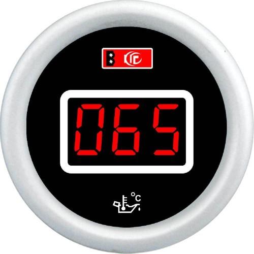 Műszer digitális olajhőfok mérő átm.52mm DGT8803