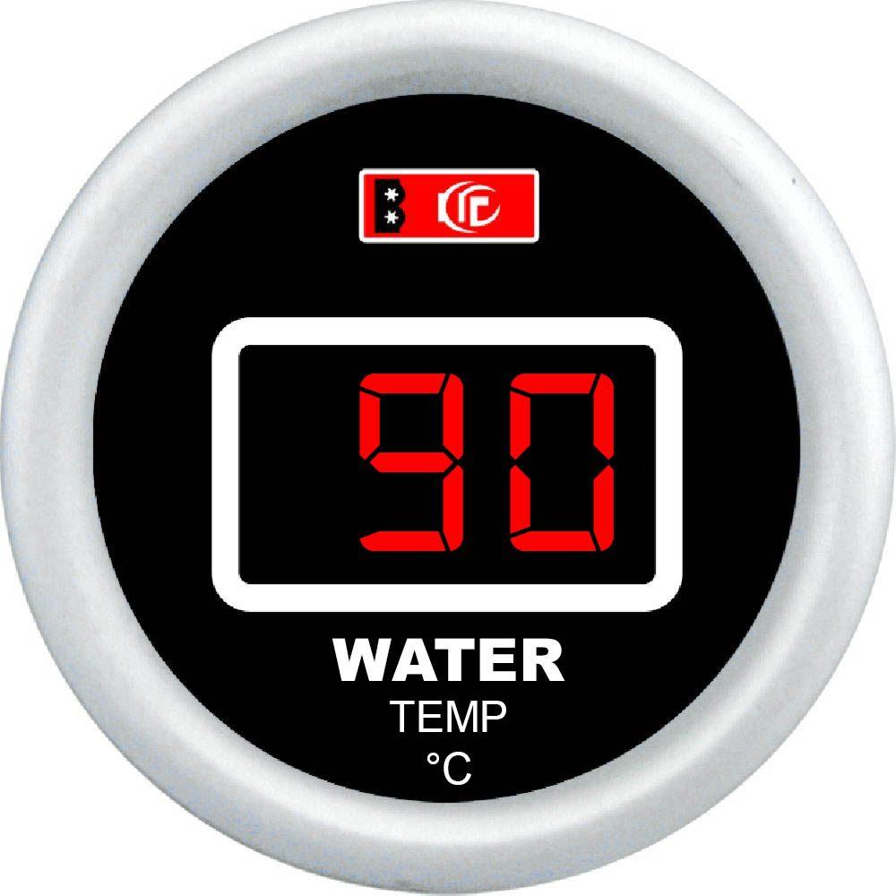 Műszer digitális vízhőfok mérő 52mm DGT8802