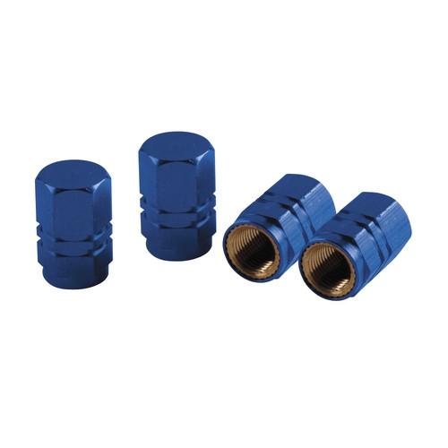 Szelepsapka 4db-os kék hexa 02504