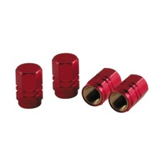 Szelepsapka 4db-os piros hexa 02505