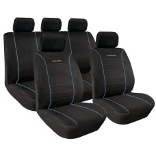 Üléshuzat garnitúra fekete-kék Premium Elegance 54847