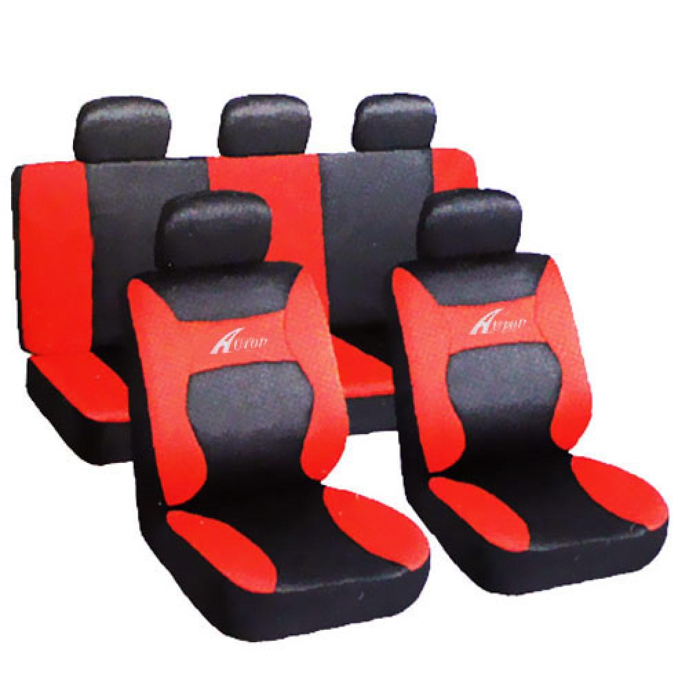 Üléshuzat univerzális  Young fekete-piros AG28458