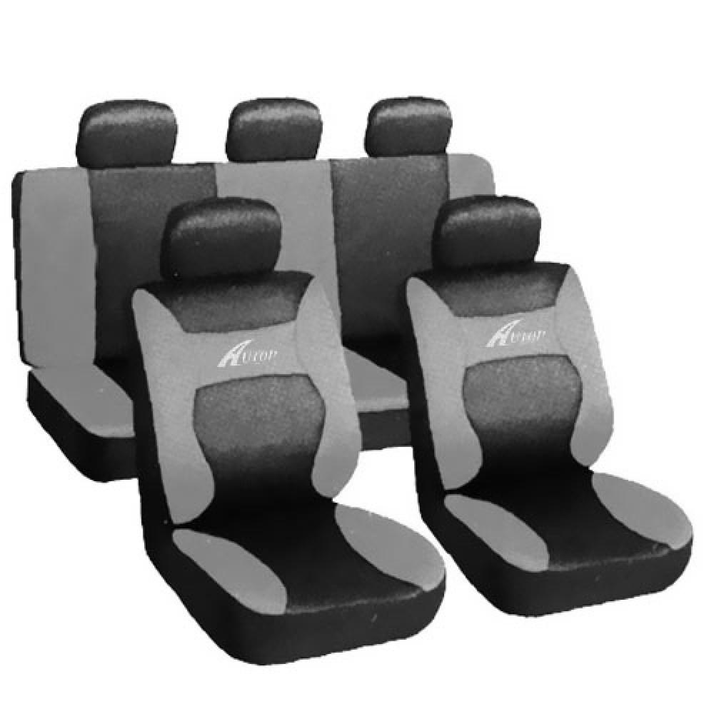 Üléshuzat univerzális  Young fekete-szürke AG28458