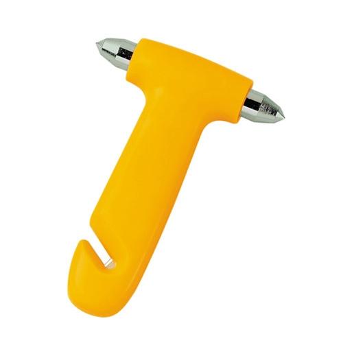 Üvegtörő kalapács biztonsági öv vágóval kicsi 48070