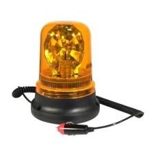 Villogófény narancssárga 12V/H1/55W forgó, mágneses AM0633 E-jel