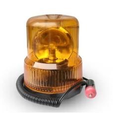 Villogófény narancssárga 12V mágneses, forgó AM7633
