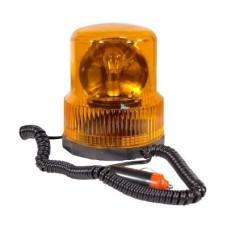 Villogófény narancssárga 24V mágneses, forgó AM7657
